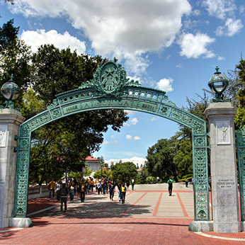 archway into park